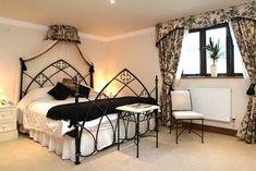 Gothic bedroom interior design