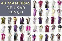 lenços femininos - Pesquisa Google