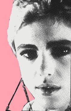 Patti Smith, Andy Warhol, Poor Little Rich Girl, Edie Sedgwick, Vogue Magazine, Love Her, Graphic Design, Artwork, Collage