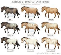 Wild Horses by Eurwentala.deviantart.com on @DeviantArt