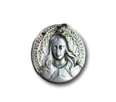St Joan fo Arc & St George Saint Joan Of Arc, St Joan, Saint George, French Antiques, Sterling Silver Pendants, Saints, Rings For Men, Design, Men Rings