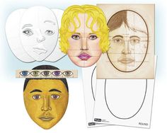 R42002 Perfect Portraits Ages 6+ Master portrait drawing with this comprehensive learning kit. Includes all the necessary components for learning in 3 easy stages. Learn about the common face shapes as well as how to determine proper proportions. The included guide is packed with useful information. Life size facial features produce a truly accurate portrait. 174 pcs. Multicultural Crafts, Play To Learn, Face Shapes, Ruler, Unique Art, Game Art, Craft Projects, Facial, Arts And Crafts