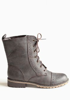 Steady Combat Boots