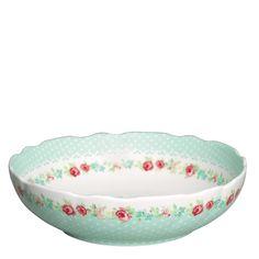 GreenGate Salad Bowl June Mint