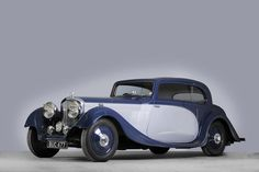 1935 Bentley 3½-Litre Sports Saloon  Chassis no. G7BW