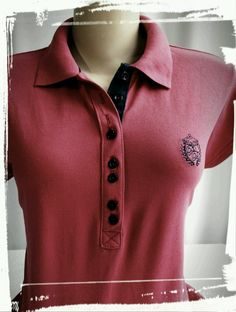 Veja nosso novo produto Polo feminina! Se gostar, pode nos ajudar pinando-o em algum de seus painéis :)
