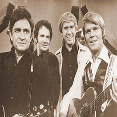 Snapshot: Johnny Cash, Merle Haggard, Buck Owens & Glen Campbell