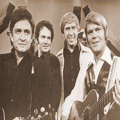 Snapshot: Johnny Cash, Merle Haggard, Buck Owens & Glen Campbell