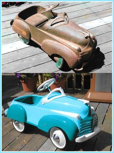 How to restore an antique Pedal Car