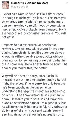 No real remorse. Narcissistic Abuse A Help for narcissistic sociopath victims. Narcissistic abuse hurts we can heal loves this Pin Thanks Abuse Narcissistic Behavior, Narcissistic Sociopath, Narcissistic Personality Disorder, Narcissistic People, Abusive Relationship, Toxic Relationships, What Do You Mean, Just For You, Lessons Learned