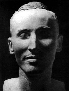 Death mask of Reinhard Heydrich German War Criminal