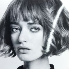 Image result for short bob with bangs french style