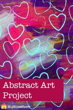 scrape painting. stamping. valentines.