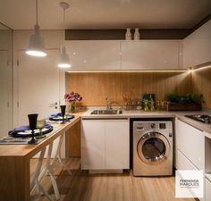 Cozinha + área de serviço