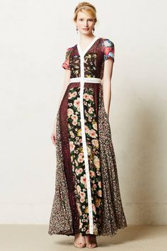I have no idea where I would wear this, but I love it! #Anthropologie