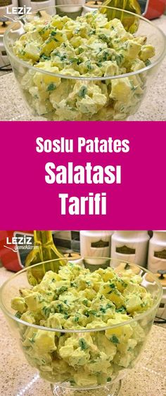 Soslu Patates Salatası Tarifi Sauce Recipes, Recipe Source, Turkish Kitchen, Allrecipes, Potato Salad, Cabbage, Favorite Recipes, Tasty, Vegetarian