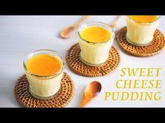チーズプリンの作り方 オーブンなし How to make cheese pudding How To Make Cheese, Pudding, Sweet, Puddings, Avocado Pudding