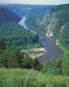 The Belaya River runs through the southern part of Russia's Ural Mountains. Nature Picture Library/Igor Shpilenok