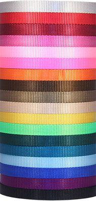 20 Yards Country Brook Design® 1in Printable Heat Set Lanyard Polyester Webbing