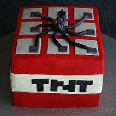 minecraft bithday cakes | ... me that I forgot to post my Minecraft birthday cake! Here ya go