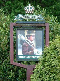 The Macebearer Pub Sign