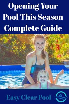 How to open your swimming pool in the spring – When to open your pool? Above Ground Pool, In Ground Pools, Open Swimming Pools, Winter Pool Covers, Summer Checklist, Swimming Pool Maintenance, Pool Care, Pool Shock, Pool Workout