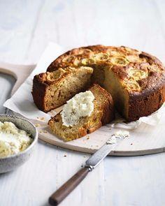 Banankage uden mel, uden sukker og uden mælk – men med en uforglemmelig smag!