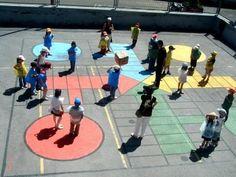 AYUDA PARA MAESTROS: Ideas para convertir el patio de tu colegio en un espacio lúdico educativo