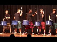 Kilts and drums? Yes.