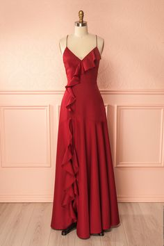 Open Back Party Dress, Party Dress Simple, Party Dress Long, Custom Made Party Dress Prom Dresses Long Red Satin Prom Dress, Burgundy Homecoming Dresses, Prom Dresses 2017, Cheap Prom Dresses, Formal Dresses, Dress Lace, Dress Prom, Dress Wedding, Prom Gowns