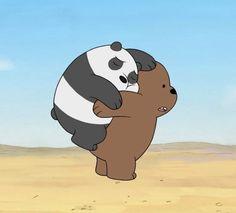 We Bare Bears Human, Ice Bear We Bare Bears, 3 Bears, Cute Bears, We Bare Bears Wallpapers, Panda Wallpapers, Cute Wallpapers, Bear Wallpaper, Cartoon Wallpaper