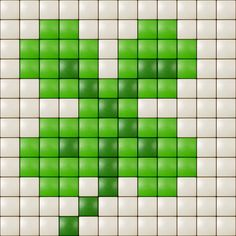 Shamrock cross stitch. Flowers cross stitch.