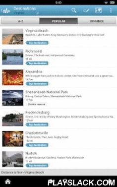 Virginia Guide By Triposo  Android App - playslack.com , Features of Triposo's guide to Virginia:★ Suggestions of what's interesting to see and do in Virginia, depending on time, weather and your location;★ A detailed sights section with all the monuments of Virginia Beach, Arlington, Richmond, Alexandria;★ Eating out section with the best restaurants in Virginia Beach, Arlington, Richmond, Alexandria;★ Discover the nightlife of Virginia! Bars, pubs & disco's in Virginia Beach…