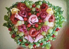 Így tálalj! Egy nagyszerű háziasszony csodás hidegtálai! - Egy az Egyben Fruit Salad, Food Styling, Food Art, Acai Bowl, Toast, Breakfast, Acai Berry Bowl, Morning Coffee, Fruit Salads
