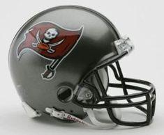 Tampa Bay Buccaneers 1997-2013 Throwback Replica Mini Helmet w/ Z2B Face Mask #TampaBayBuccaneers