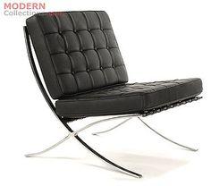 Barcelona Chair. Presidente Barcelona. Projetada exclusivamente par o Pavilhão Alemão. De Ludwig Mies van der Rohe. Amo essa cadeira