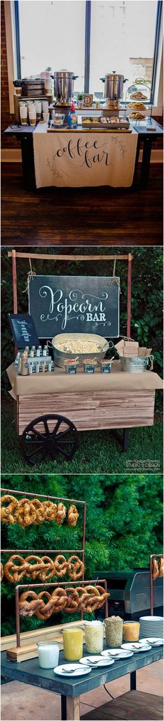 wedding food bar ideas