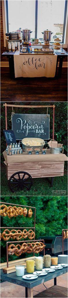 wedding food bar ideas