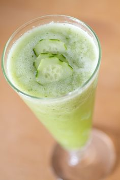 Fresh Cucumber Juice - Goes  great with gin and tonic