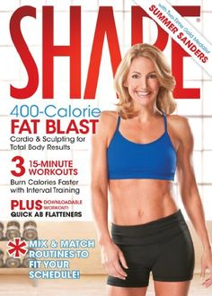 SHAPE: 400 CALORIE FAT BLAST w/ Summer Sanders