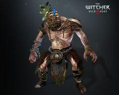 ArtStation - Dagonet, wind mill giant, The Witcher 3, Wild Hunt- Blood and Wine Expansion, Antonio Jose Gonzalez
