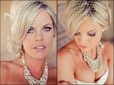 Beautiful! Love that statement necklace