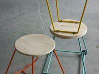 MOSCHETTIERI stools series - Aramis | Athos | Porthos  #salonesatellite2013|#fuorisaloneBreraDistrict - Napoli, Italia - 2013 - ZE123collective