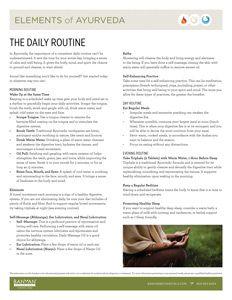 Ayurveda Kapha Daily Routine - Balancing Kapha Dosha | Banyan Botanicals