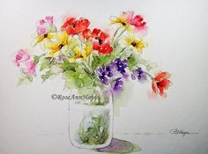 Available Watercolors by RoseAnn Hayes