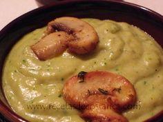 Cocina Costarricense: crema de hongos