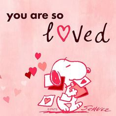 """""""Love is all around you ❤️"""" Peanuts Quotes, Snoopy Quotes, Snoopy Valentine, Valentine Day Love, Peanuts Cartoon, Peanuts Snoopy, Snoopy Cartoon, Snoopy Love, Snoopy And Woodstock"""