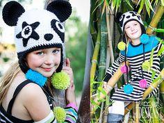 Amanda the Rock-n-Roll Panda and Bamboo the Panda Hat - $6.50 (CAN) by Ira Rott of Ira Rott