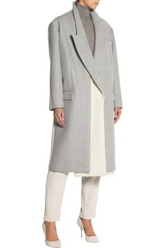 Stella McCartneyCurtis oversized two-tone wool-blend felt coatfront