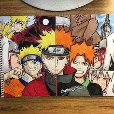 Anime Naruto, Naruto Shippuden Sasuke, Naruto Kakashi, Naruto Art, Boruto, Anime Nerd, Otaku Anime, Manga Anime, Naruto Tattoo